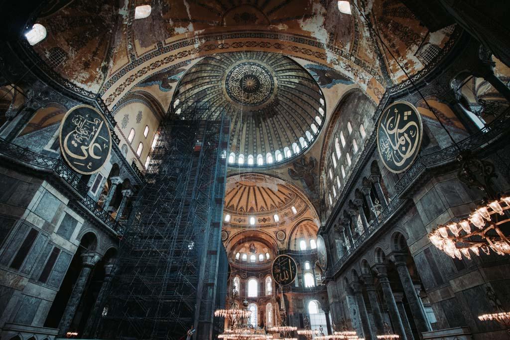 Istanbul Hagia Sofia Architektur